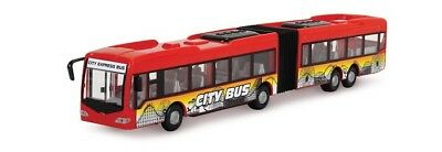 DICKIE 203748001 - KIDS MATE - CITY EXPRESS BUS - ROT/KARUSSEL (ca. 40cm) - NEU