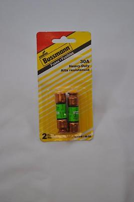 NEW Cooper Bussman Fuses BP/FRN-R-30 Amp Time Delay Motor Protection Cartridge