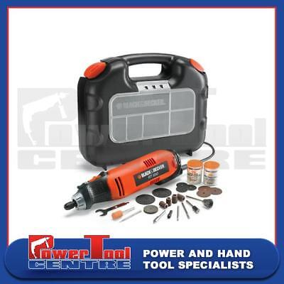 Black & Decker Reconditoned RT650K Rotary Multi Tool with 87 Accessories & Box