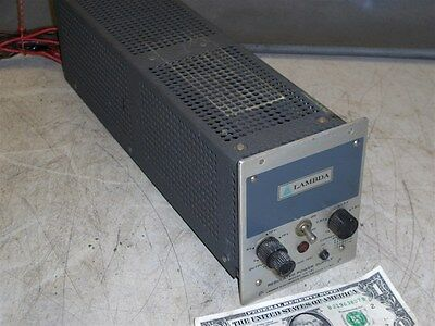 Lambda Lh-121 Regulated Power Supply 0-20 Vdc 2.4 Amps-Volts & Amps Adjustable