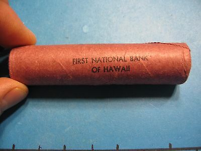 1969-S Lincoln First National Bank Of Hawaii Super Tight Obr Unsearched Rare #A