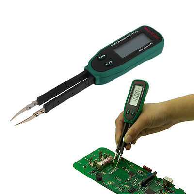 Tweezers Smart SMD RC Resistance Capacitance Diode Meter Tester Auto Scan GH
