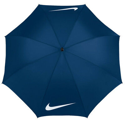 "Nike Golf Windproof Single Canopy 62"" Umbrella - Navy / White (N90213)"