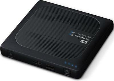 Western Digital My Passport Wireless Pro 2 TB, USB 3.0 + WLAN Externe Festplatte