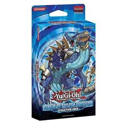 NEW & SEALED! Yu-Gi-Oh! Realm of The Sea Emperor Structure Deck 1st Edition