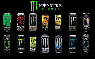 MONSTER ENERGY DRINKS 500ml WHOLESALE DISCOUNT RETAIL ALL FLAVOURS & QUANTITIES