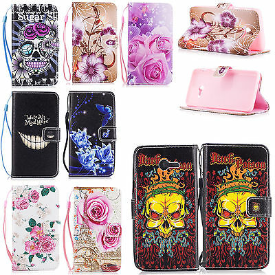 Holder Card Wallet Flip Leather Silicone Cover Case For Samsung Galaxy J5 2017