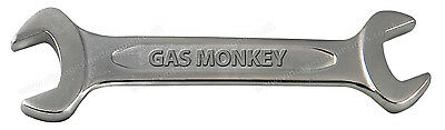 """Gas Monkey Spanner Digitally Cut Out Vinyl Sticker. 10"""" X 3"""" Overall Size."""