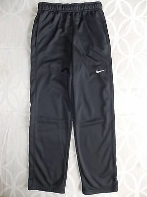 Nike Athletic Boys 7 Youth Black Elastic waist DrawstringTraining Polyester Girl