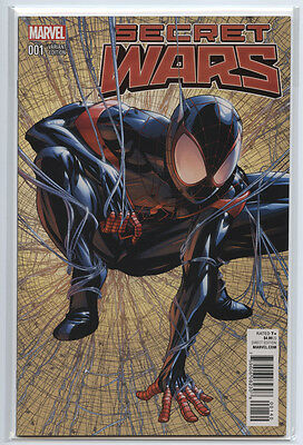 SECRET WARS #1 LEGACY EXCLUSIVE Edition Variant Spider-man 1st Print HOT!