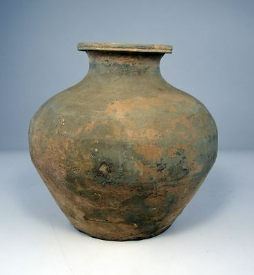 Archaeological Find Large Ancient Chinese Han Dynasty Earthenware vessel