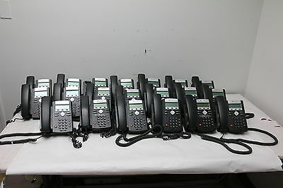 Lot of 20 Polycom Soundpoint IP 331 VoIP PoE Business Telephones 2201-12365-001