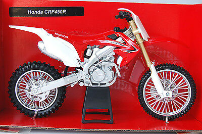 HONDA CRF450R  1/12th  MODEL MX  MOTORCYCLE