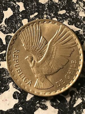 1970 Chile 2 Centavos Lot#5846 High Grade! Beautiful!