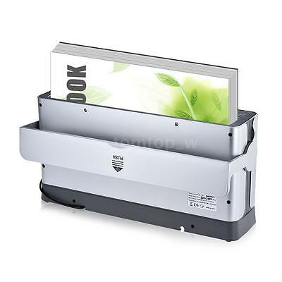 A4 Auto Fasten Clamp Paper Book Thermal Binder Binding Machine 200 Sheets M4M2