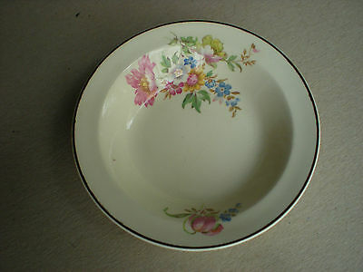 TST Taylor Smith Taylor Cabbage Rose Floral Berry Bowl 3 49 1  Egg Shell  USA