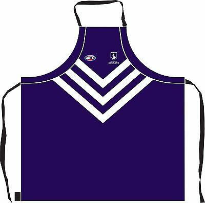 Fremantle Dockers AFL Kitchen BBQ Man Cave Bar Apron Fathers Day Christmas Gift