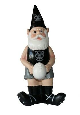 New Zealand Warriors NRL Garden Gnome with White Ball 2017