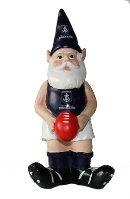 Fremantle Dockers AFL Garden Gnome with Red Ball 2017