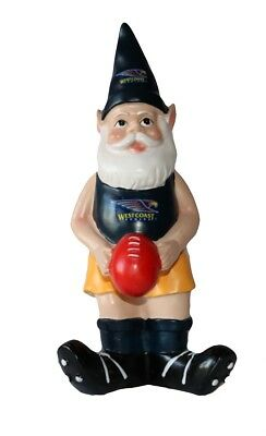 West Coast Eagles AFL Garden Gnome with Red Ball 2017