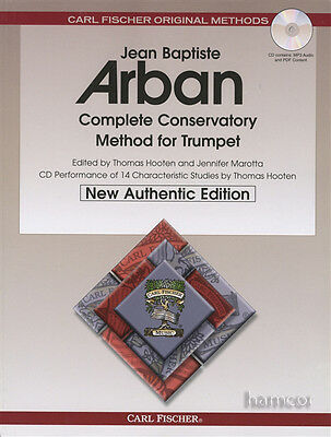 Jean Baptiste Arban Complete Conservatory Method for Trumpet Music Book/MP3CD