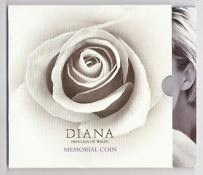 1999 Uncirculated £5 Diana Memorial Crown Pack
