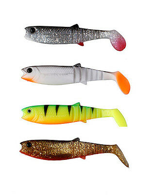 Savage Cannibal Shad Pike Perch Zander Fishing Lures Minnow Soft Bait