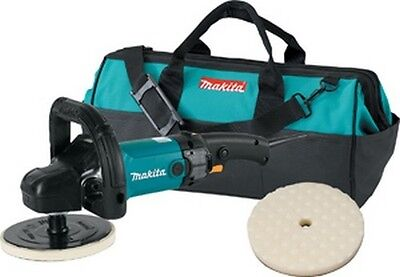 "Makita 9237CX2 7"" Premium Variable Electric Polisher and Sander Kit"