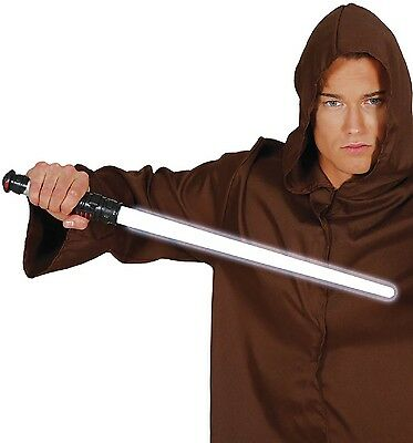 Toy Light Sword Space Futuristic Soldier Fancy Dress Weapon Accessory Prop