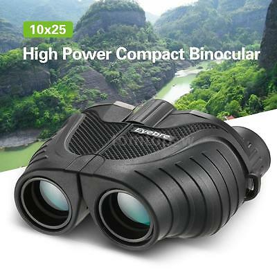 Outdoor 10x25 Zoom Compact Binoculars Telescope for Camping Hiking Hunting N1M4