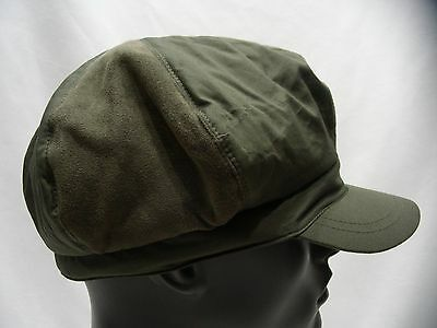 61cc7d3b PUMA HAT CADET Military Style Cap Womans Dark Green One Size Cotton ...