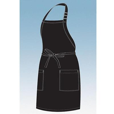 Chef Works - F53-BLK - Black Two Patch Pocket Apron