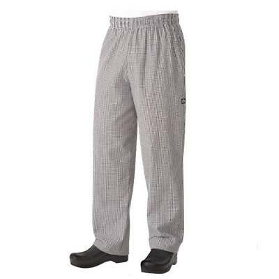Chef Works Classic Baggy Chef Pants - Checkered - All Sizes