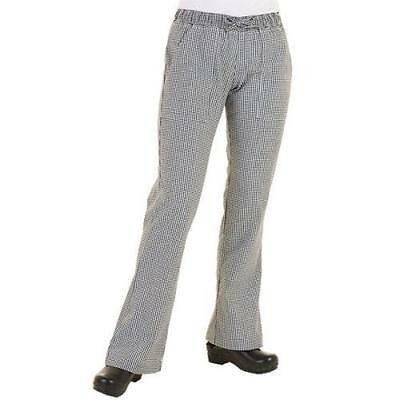 Chef Works - WBAW-M - Women's Checked Chef Pants (M)