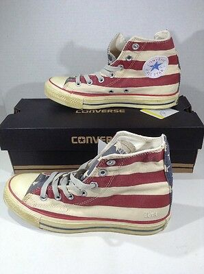 CONVERSE Unisex CT All Star Rummage Red Canvas Casual Shoes Sz W 6.5 M 5 ZG-441