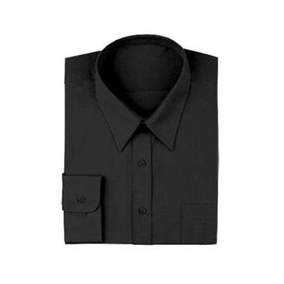 Chef Works - D150-BLK-XL - Black Server Dress Shirt (XL)