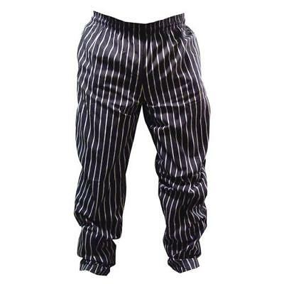 Chef Works - GSBP000M - Chalk Stripe Designer Chef Pants (M)
