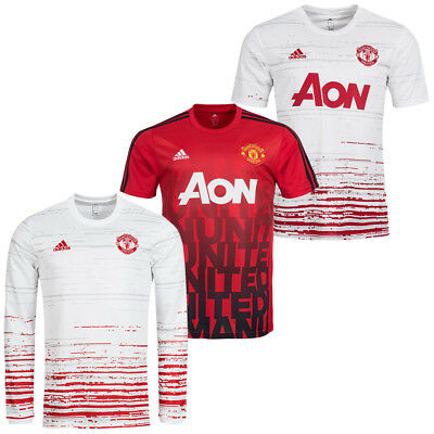 Manchester United FC adidas Trainings Trikot Pre-Match MUFC Jersey S M L XL XXL