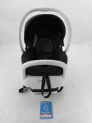 Maxi-Cosi IC164-BIZ Mico Max 30 Infant Car Seat White Collection, Devoted Black