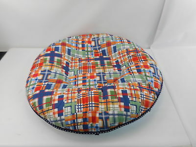 Pello 10612 - Multi-use Luxe Baby-Toddler Floor Pillow - Plaid/Blue