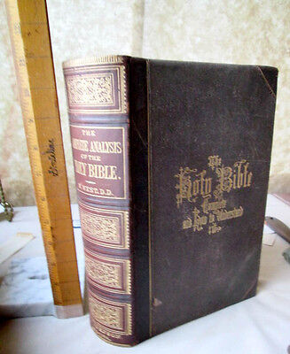 THE COMPLETE ANALYSIS Of The HOLY BIBLE,NEW & OLD TESTAMENT,1869,Rev. West