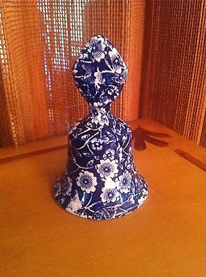ROYAL CROWNFORD -  CALICO BLUE Chintz BELL
