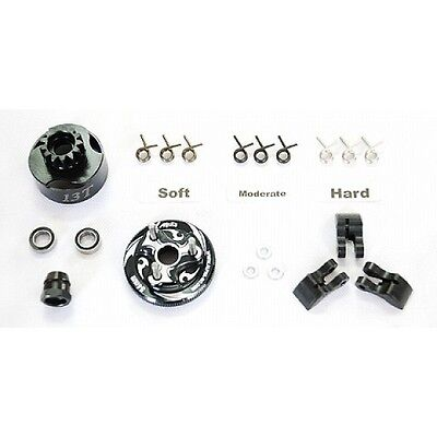 Alpha 13T Clutch Combo Set - Springs Shoes Bell Springs Flywheel #E64-BUB2113 RC
