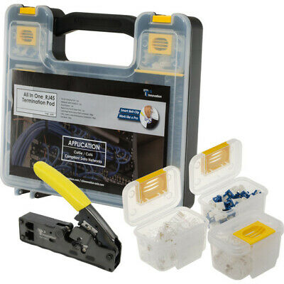 Ozstock Rj45 Termination Hand Tool Kit Tools And Connectors All In 1
