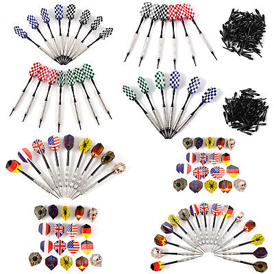 15ps Steel Dartpfeile Soft Pfeile Arrow PVC Dartflights+100 Dartersazspitzen 16G
