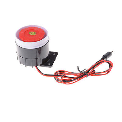 12V 120dB Wired Indoor Siren Horn Ear Piercing For Home Security Alarm System UK