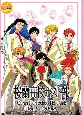 OURAN HIGH SCHOOL HOST CLUB   Eps .01-26   English Subs   3 DVDs (MIR0929)