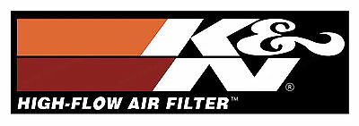 """K&n Air Filters Digitally Cut Out Vinyl Sticker. 6"""" X 2"""" Overall Size."""