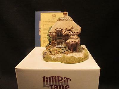 Titmouse Cottage Lilliput Lane Miniature Masterpiece with Box Booklet & Deed