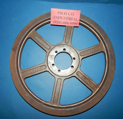 """Maurey 2B15.4SK 2 Groove Pulley Sheave 15-3/4"""" (15.75) Inch Outer Diameter"""